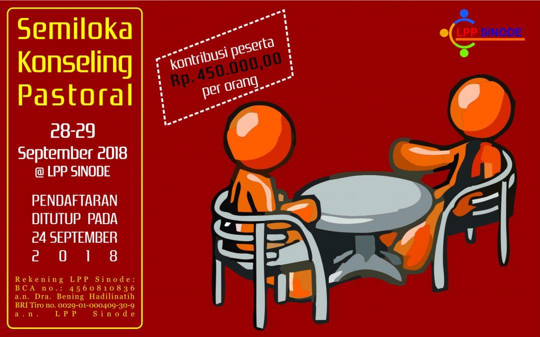 Semiloka Konseling Pastoral