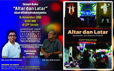 "Telaah buku ""Altar dan Latar"""