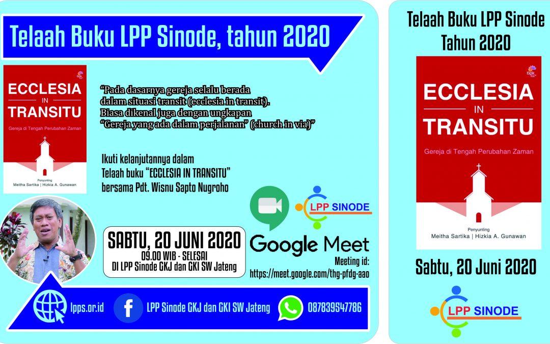 Ecclesia In Transitu_Telaah Buku LPP Sinode 2020