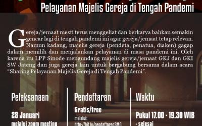 Sharing Pelayanan Majelis Gereja di Tengah Pandemi