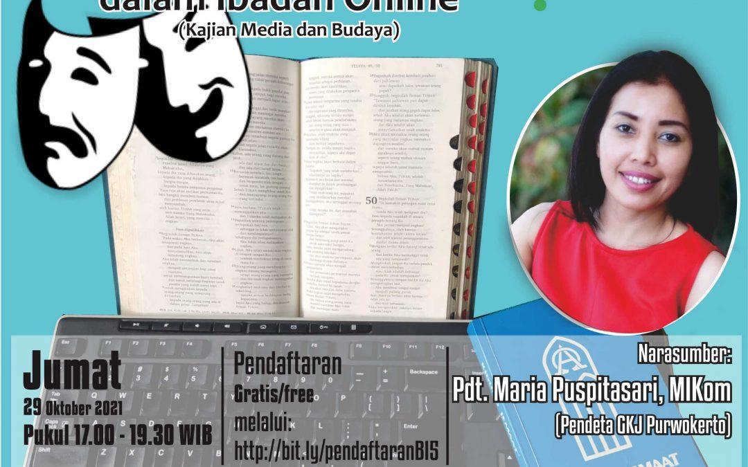 Dramaturgi Pendeta dalam Ibadah Online (Kajian Media dan Budaya)